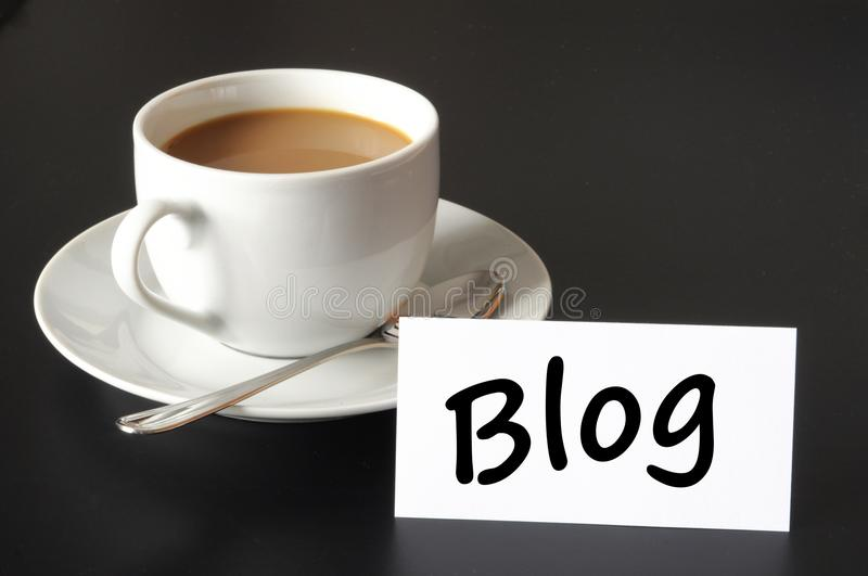Download Blog stock image. Image of coffee, word, office, blogging - 13715773