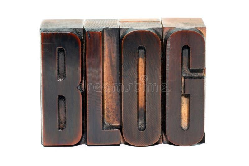 Blog fotografía de archivo