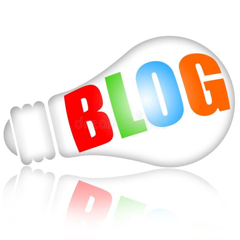 Blog illustrazione di stock