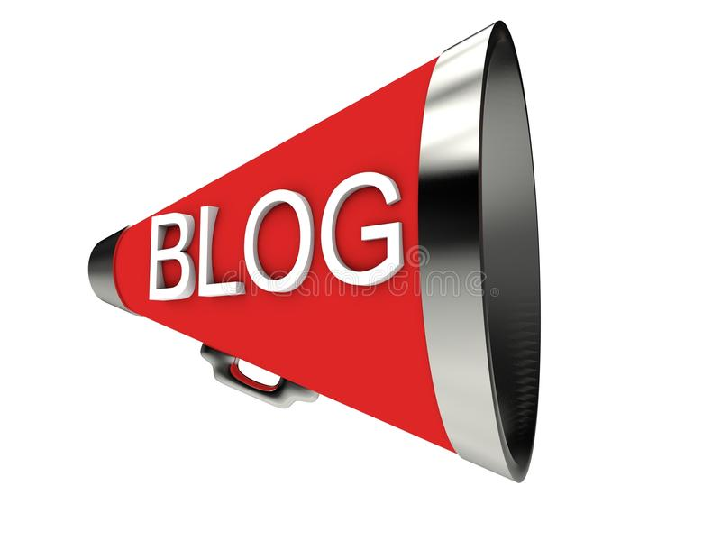 Blog royalty illustrazione gratis