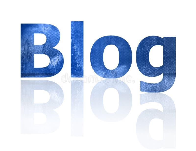 Blog illustration stock