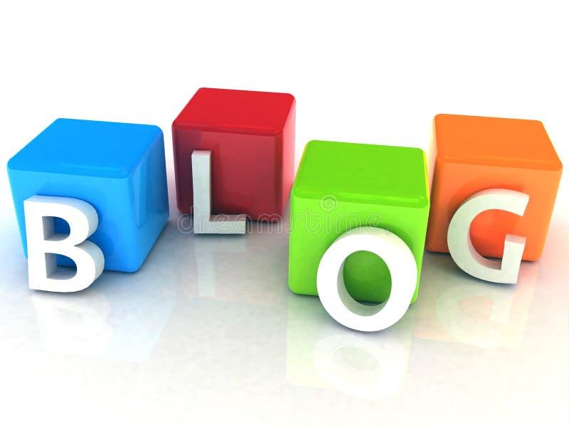 Download Blog 3D Text Royalty Free Stock Photos - Image: 28638278
