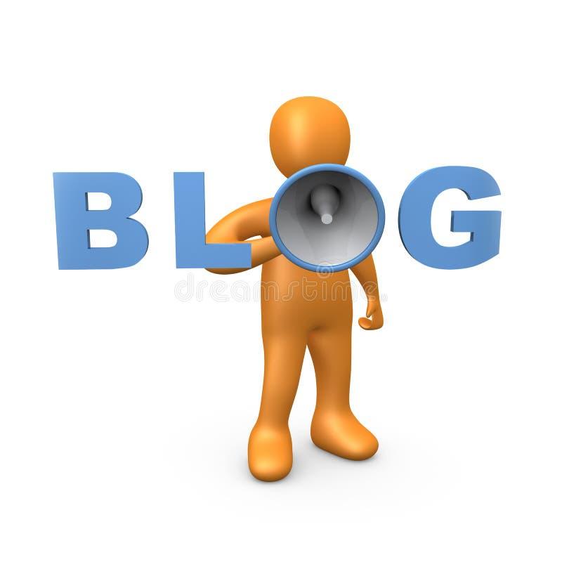 Blog lizenzfreie abbildung