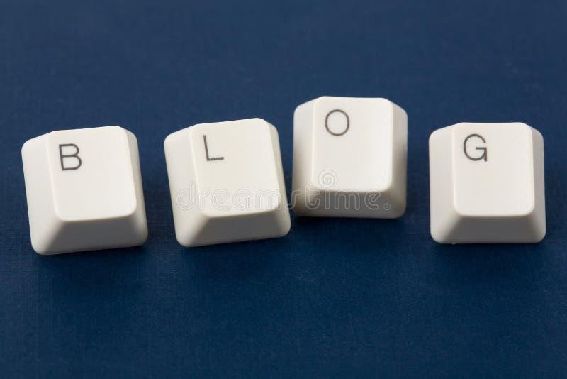 Blog photographie stock libre de droits