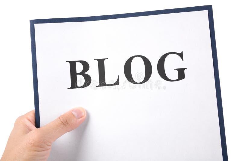 Blog photos stock