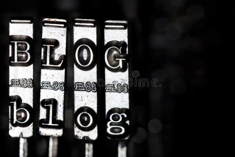 Blog fotografía de archivo libre de regalías