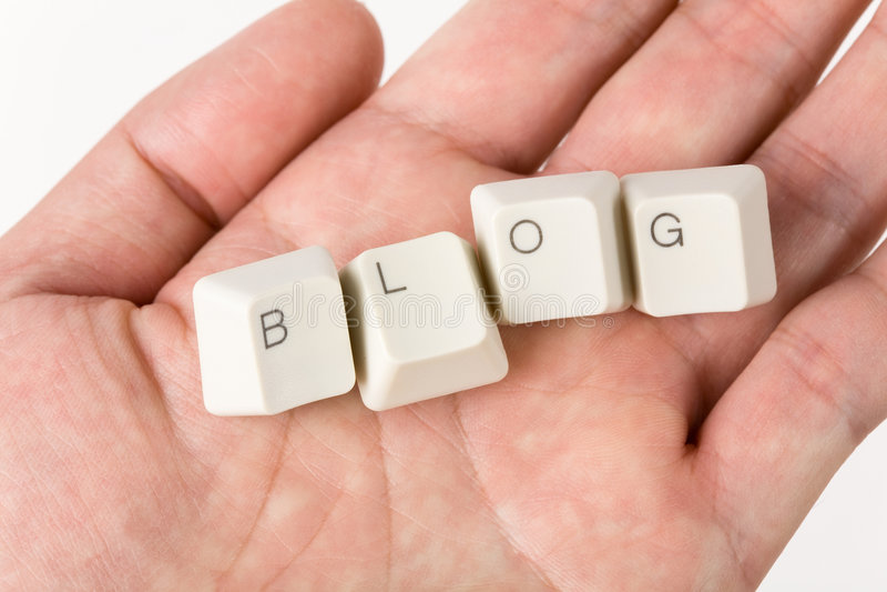 Blog lizenzfreie stockfotos
