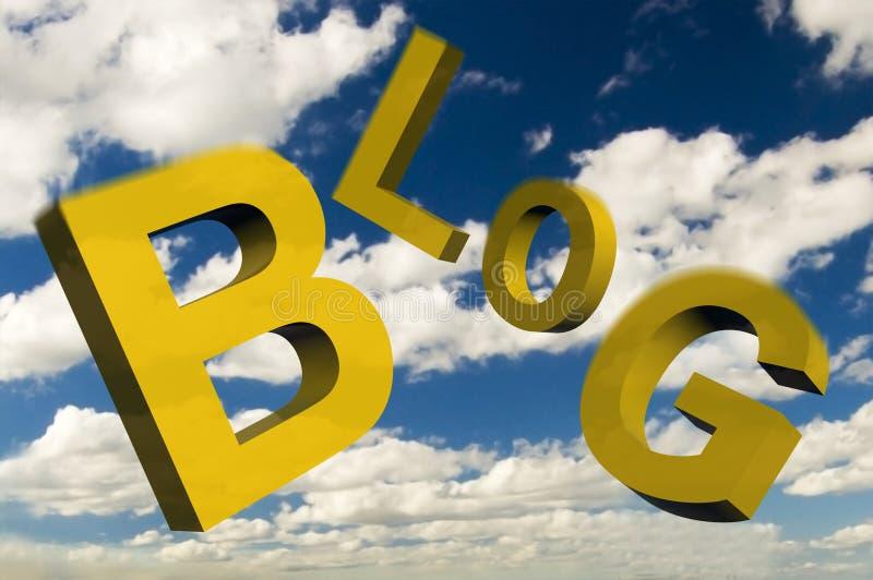 Blog stock abbildung