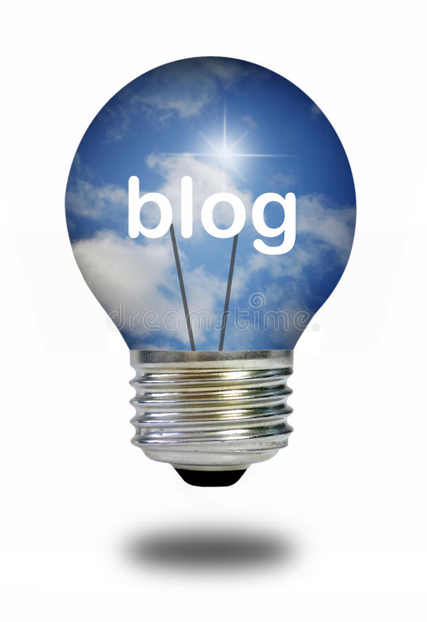 Blog photo stock