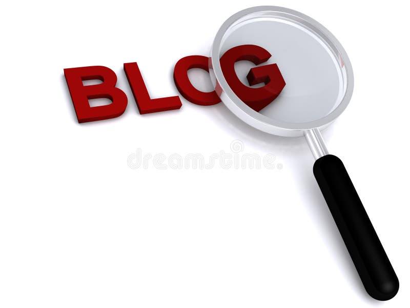 blog stock illustrationer