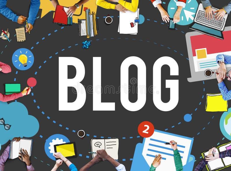 Download Blog Blogging Media Messaging Social Media Concept Stock Image - Image of messaging, communication: 69201431