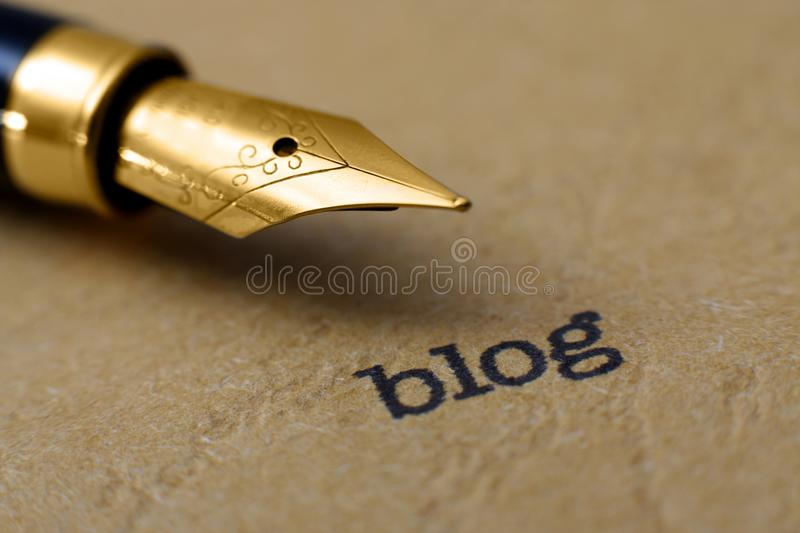 Download Blog concept stock photo. Image of notebook, economy - 36615608
