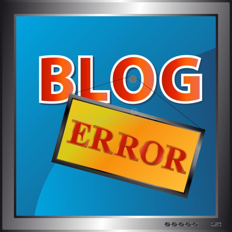 Blog error icon