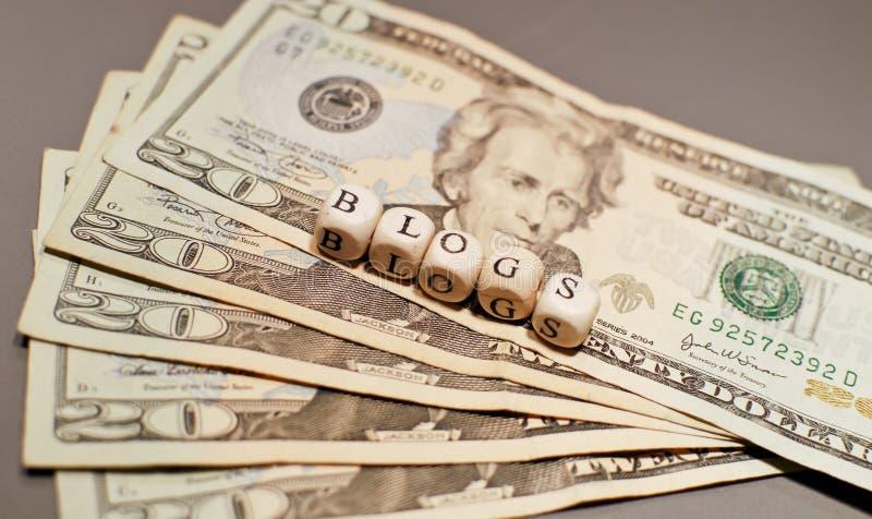 blog płacący dostaje zdjęcie royalty free