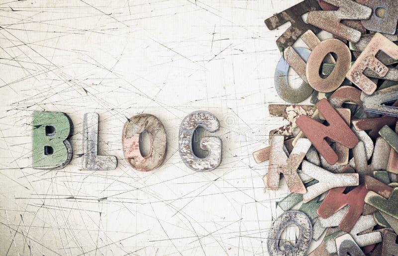 Blogg royaltyfria foton