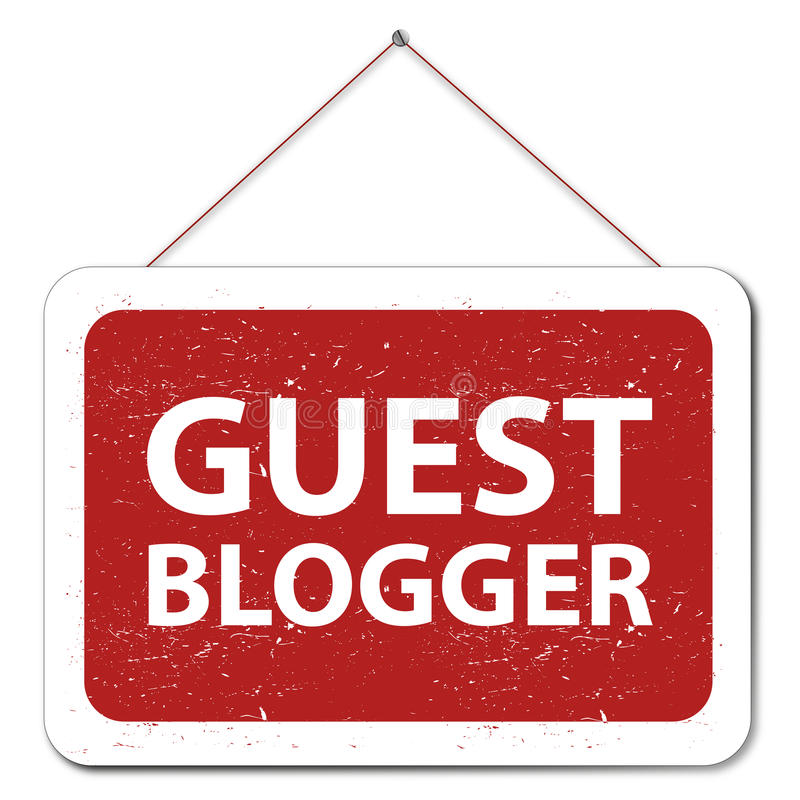 Blogger de la huésped libre illustration