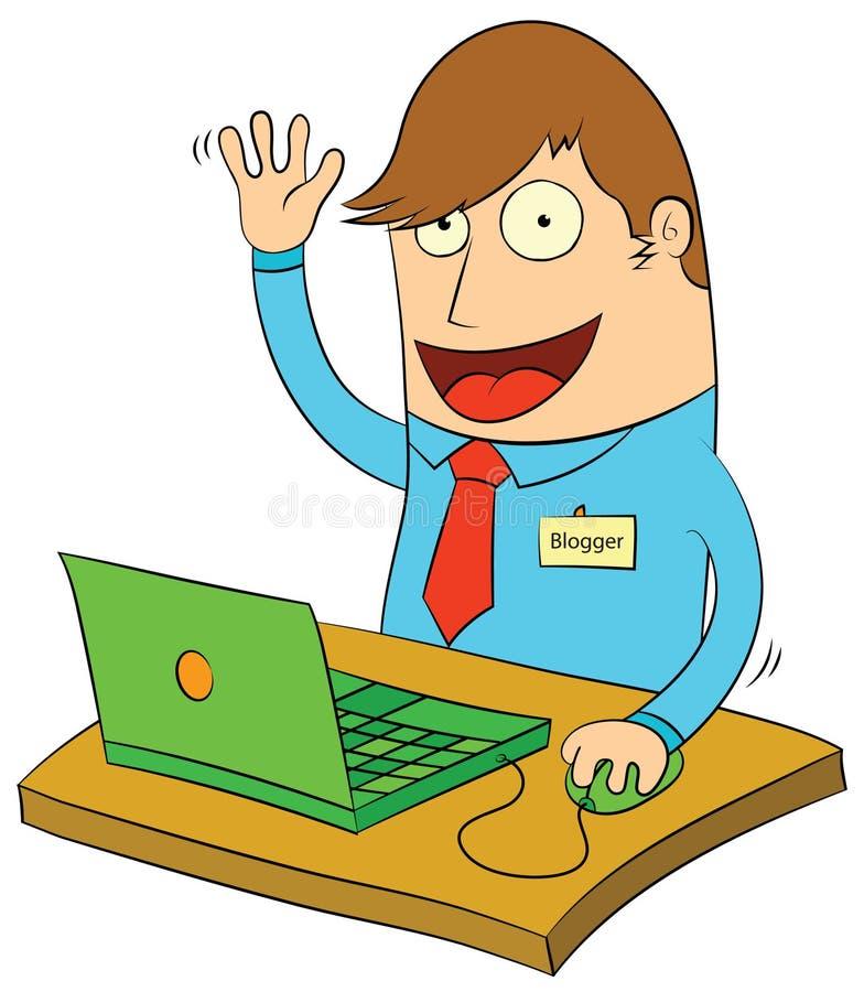 Blogging Is Fun Stock Photos