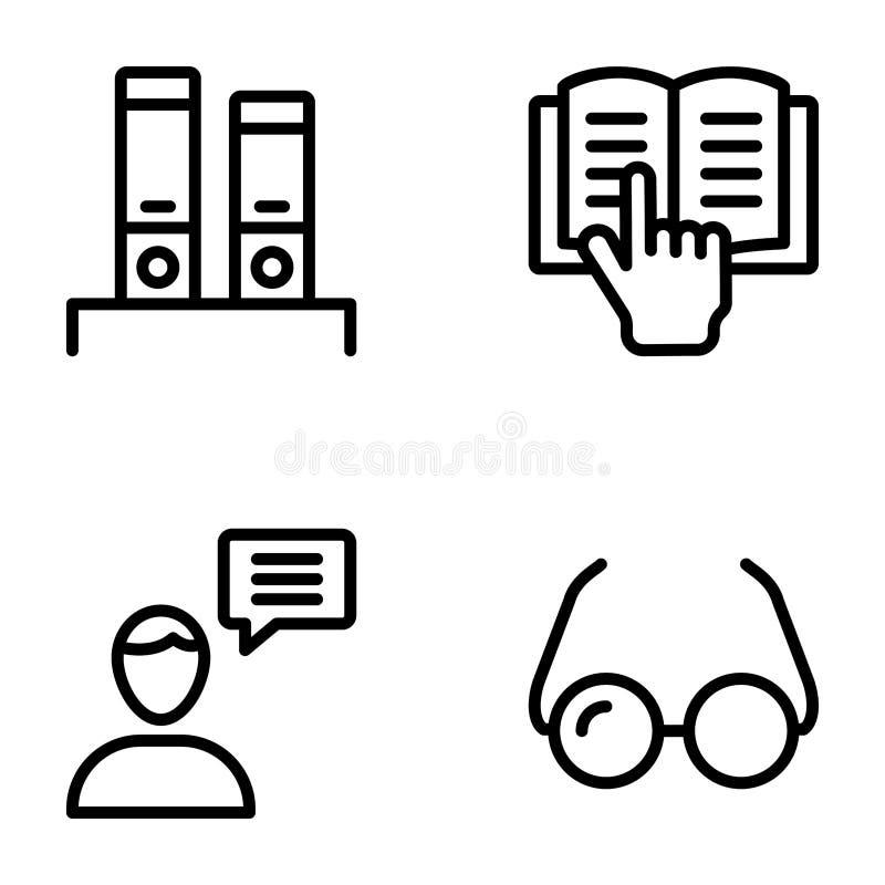 Blogging Line Vectors Pack vector illustration