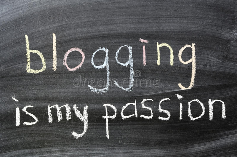Download Blogging is my passion stock photo. Image of addiction - 28440902