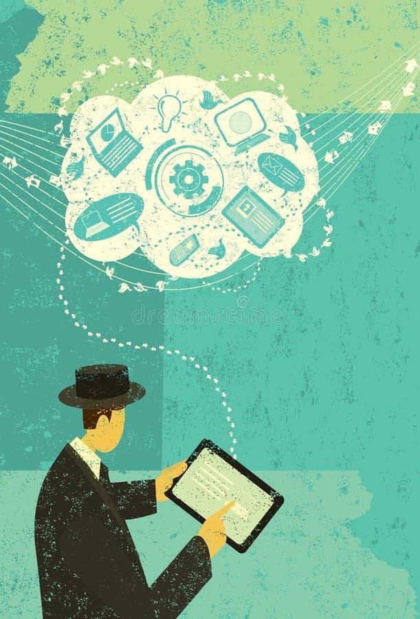 Blogue da informática  ilustração royalty free