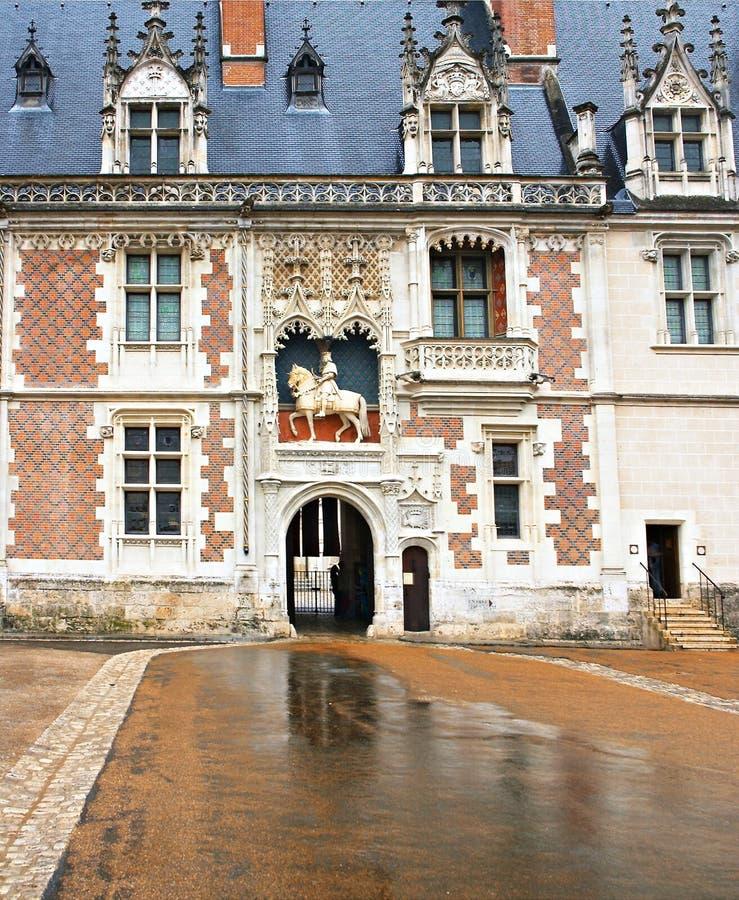 blois城堡 图库摄影