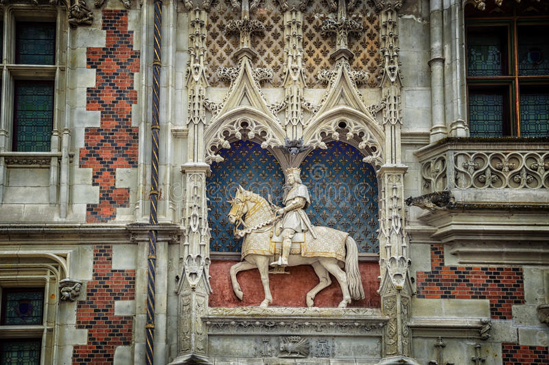 Blois, France royalty free stock photography