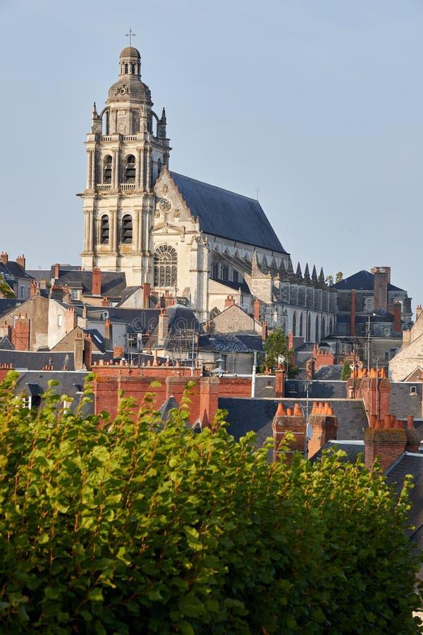 Blois Frankrike, Loire Valley royaltyfria foton