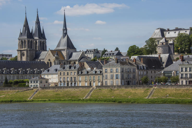 Download Blois - Loire Valley - France Stock Image - Image of spire, buildings: 26632049