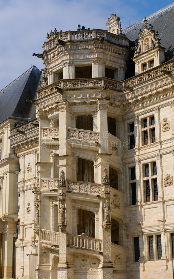 Download Blois staircase stock photo. Image of loire, famous, king - 8320102