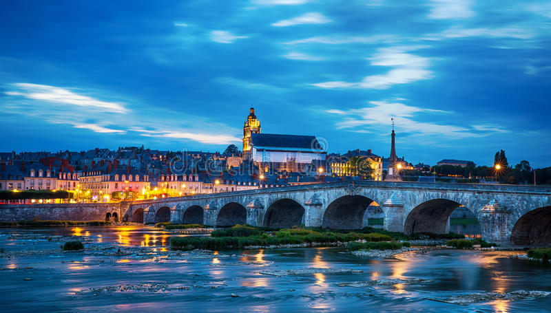 Blois royalty free stock photo