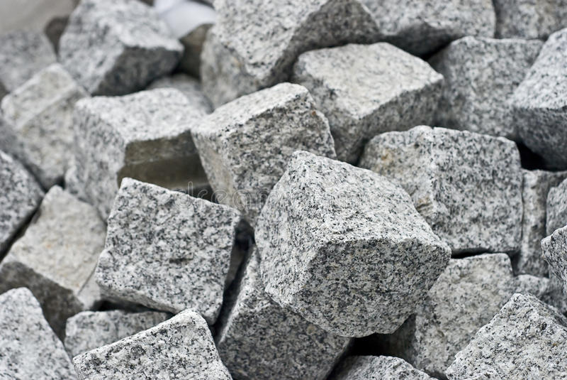 bloków sześcianu granit zdjęcia stock