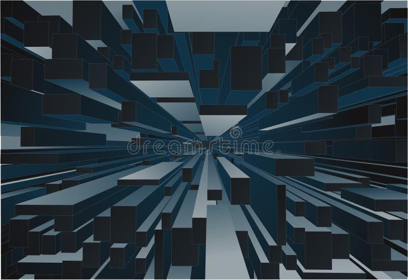 blok abstrakcyjne tło ilustracji