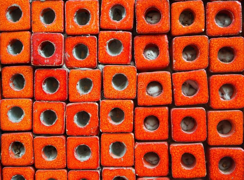 Blok płytek wzory fotografia stock