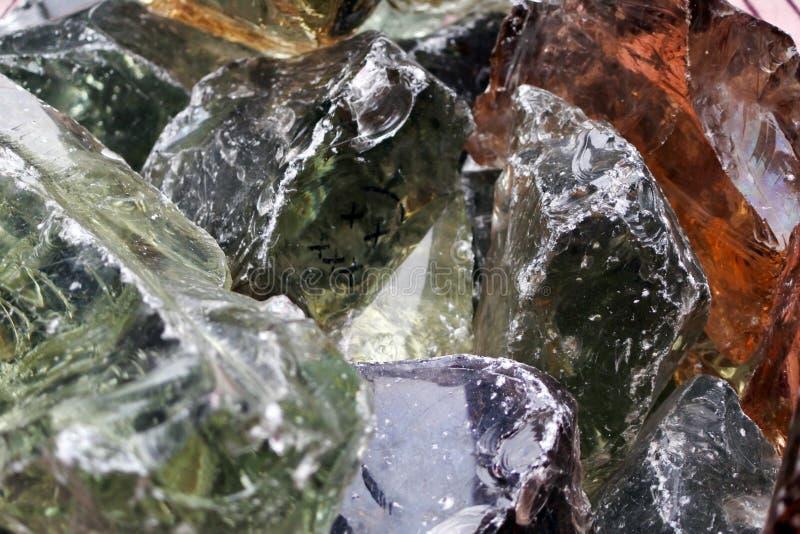 Bloki barwiony szkło obraz stock