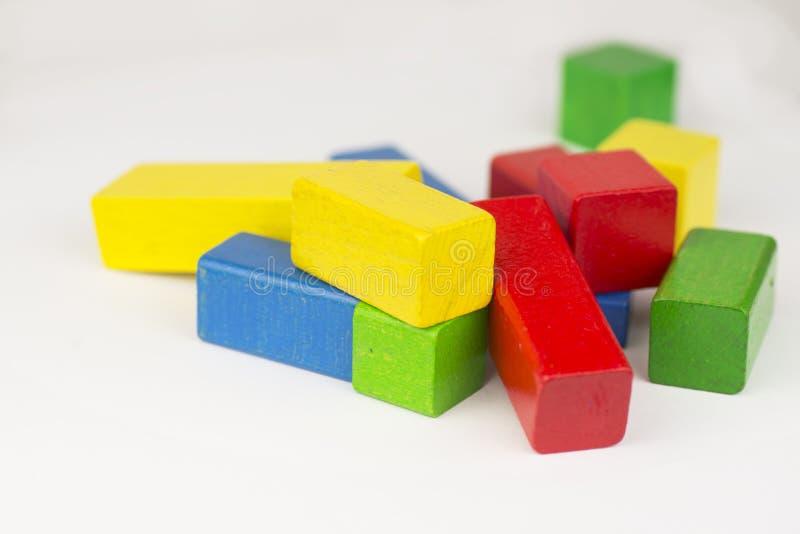 bloki bawją się drewnianego obraz stock