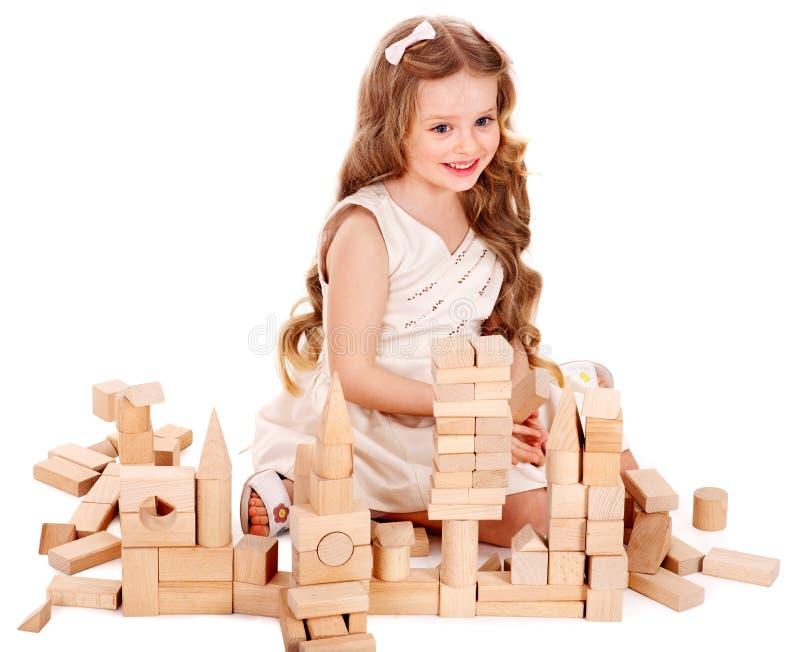 bloki target1654_1_ dzieci bawią się obrazy royalty free