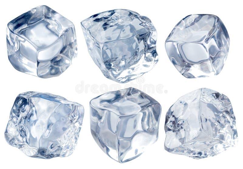 Blokken van ijs stock foto