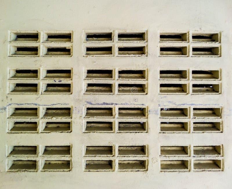 Blokkenbakstenen muur royalty-vrije stock afbeeldingen
