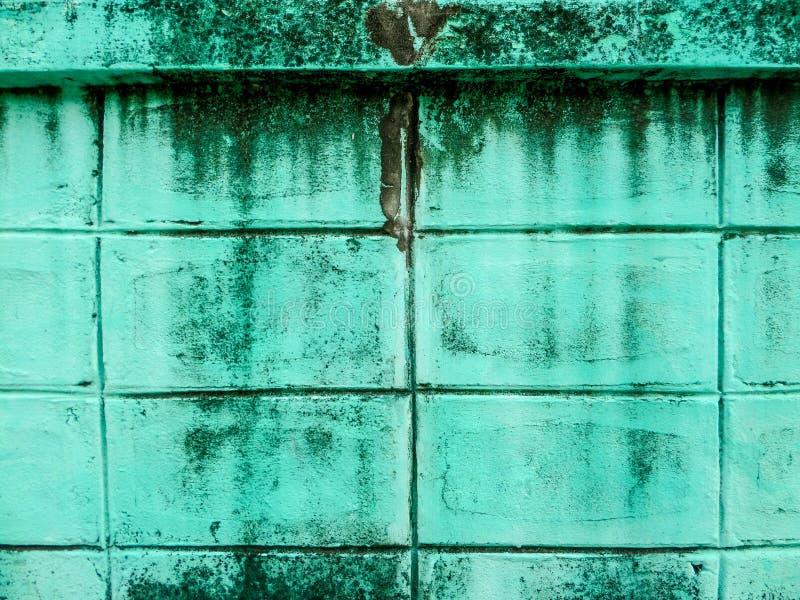 Blokkenbakstenen muur royalty-vrije stock foto's