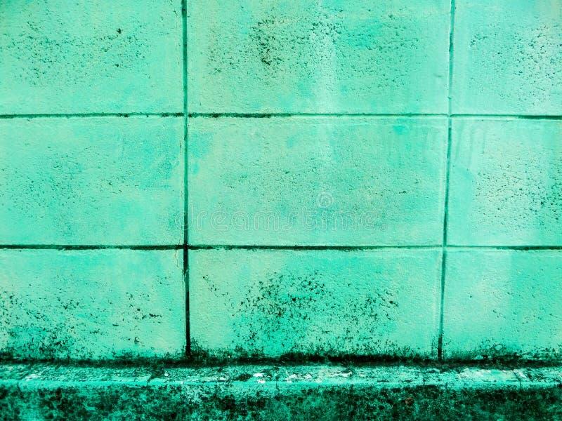 Blokkenbakstenen muur stock afbeelding