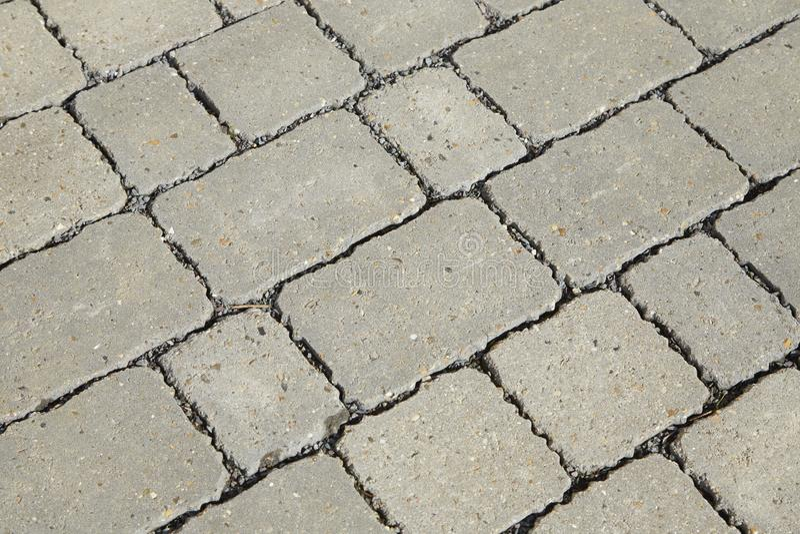 Blokowa Brukowa tekstura obraz stock