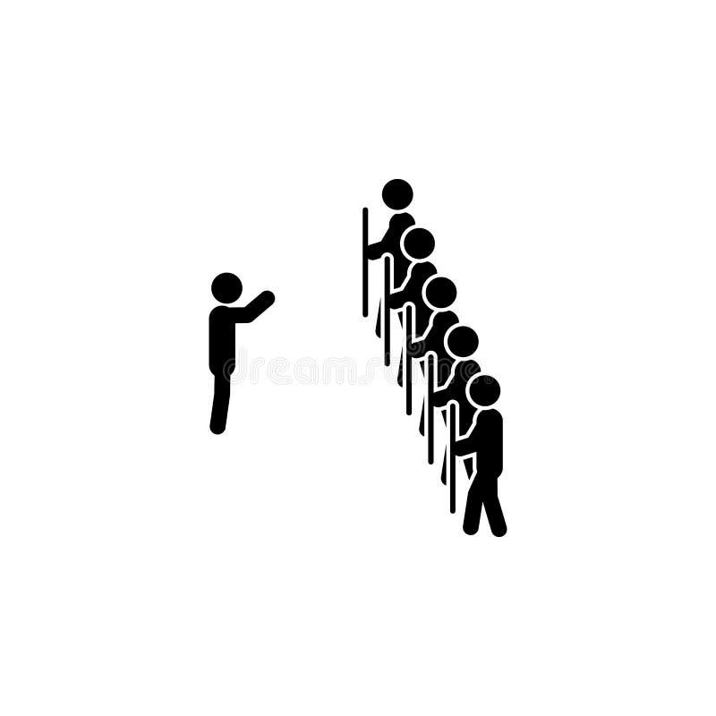 Blokowa ikona Element pokonująca wyzwanie ilustracja Premii ilości graficznego projekta ikona Znaki i symbol inkasowa ikona dla ilustracja wektor