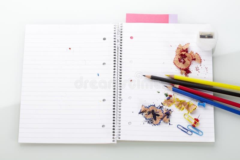 blokowi ołówki zdjęcie stock