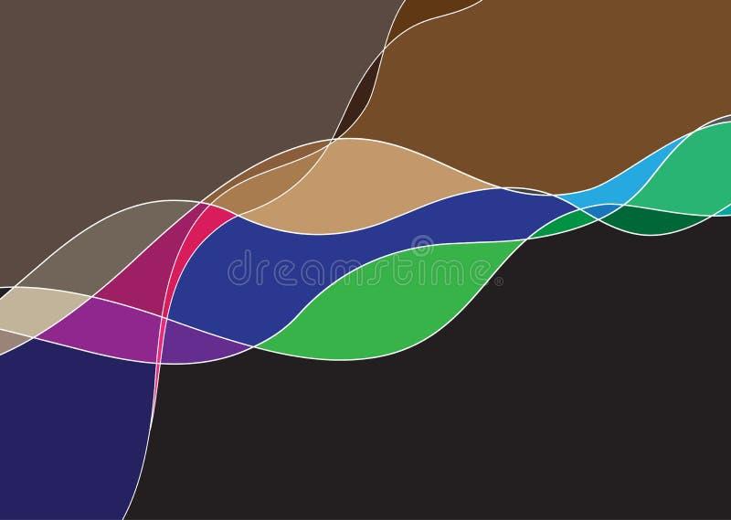 Blokowy koloru tło royalty ilustracja