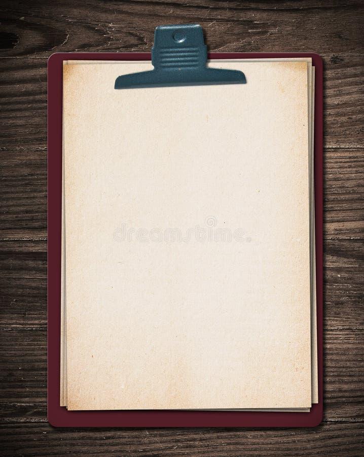 blokowy stary papier fotografia royalty free