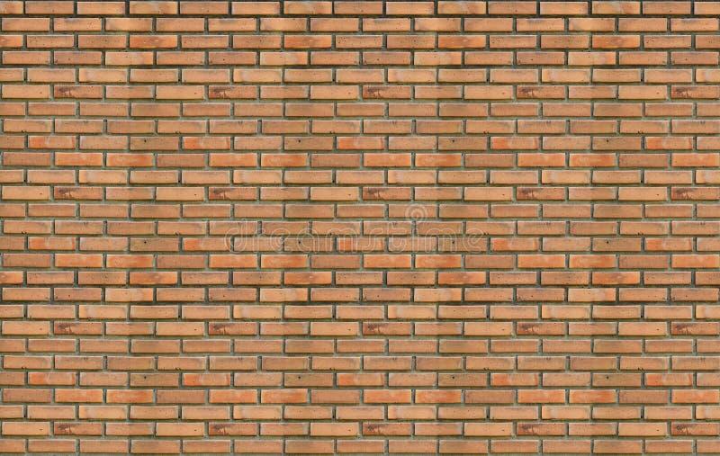Blokowy tło stary ściana z cegieł pomarańczowe cegły ilustracji