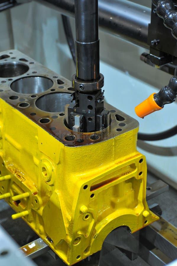 blokowy wiertniczy silnik zdjęcie royalty free