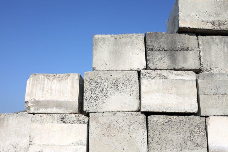 bloku beton obraz stock