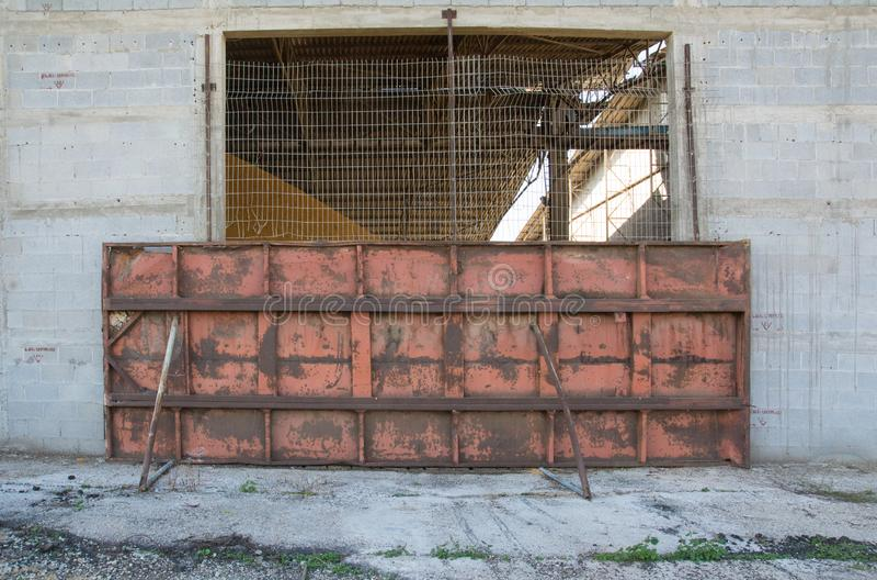 Blokujący progu wejście fotografia royalty free