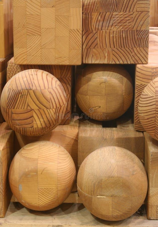 blokuje drewna zdjęcie royalty free